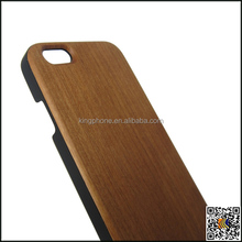 Hot sale PC wood cover for iPhone 6s Bamboo Phone Case