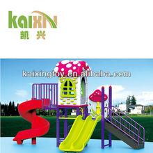 Outdoor Big playground slippery tube slide play equipment