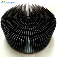 Aluminum Heatsink for 80~100W LED Tracking Lighting