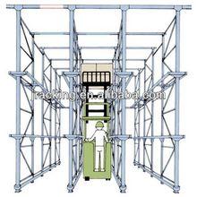 Metal folding shelves,Basketball storage racks storage drive-in racking