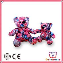 ICTI Factory lovely animal cheap custom cute stuffed christmas bear