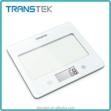 Alta precisión balanza de cocina, vidrio cocina del hogar, cocina gram escala