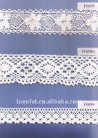 100% cotton lace