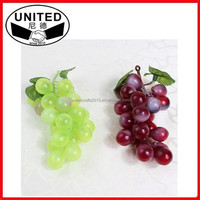 hot selling hanging artificial fruits,grape bunch crafts