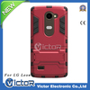 Customized 10 colors design cell tpu phone case for LG leon