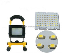 portable hanging solar led hand lamp with battery charged