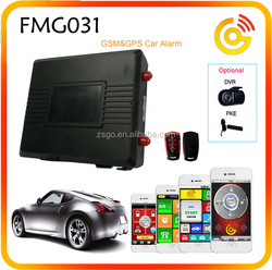 GSM GPS car alarm system with remote engine start
