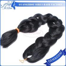 2015 Factory wholesale Xpression ultra braid kanekalon xpression synthetic hair braids