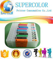 Supercolor Cartridge Factory For EPSON Pro 4900 4910 Refillable Ink Cartridge With Auto Chip