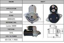 Valeo car starter motor for Sail starter OEM:D6RA293 LESTER:30899