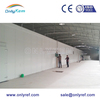 restaurant kitchen freezer cold room with sliding door and PU sandwich panels