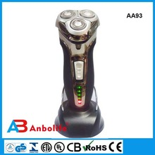 Electric man shaver;3 floating heads Charge indicator Battery indicator System 360 all - around shave Exact shaving system
