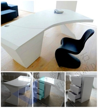 16 years experience office furniture desk manufacturers cusotm office table Custom Office Tablle acrylic computer desk and chair
