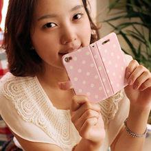 Spring Waltz_Happymori Design Flip Phone Cover Case for Apple iPhone 6 (Made in Korea)