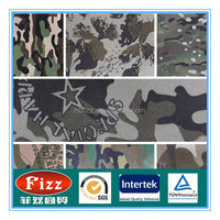 2015 new cotton/ polyester Fabric for clothing, for combat clothing