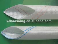 PVC fiberglass protective insulation sleeve
