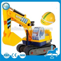 PUZ-Exercise Equipment!Foreign Kids Outdoor Park Game Rides Mini Excavator Toy