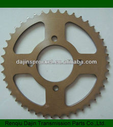 1045# steel high quality motorcycle parts for china motorcycle 400cc sprocket /motorcycle sprocket 428 15t