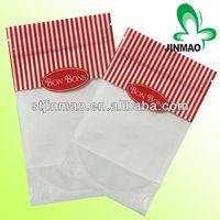 Portion printing reusable poly bag with transparent window
