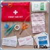 Small first aid kits portable nylon red bag Emergency Medical Product