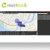 Meitrack laptop tracking gps tracking software for gps tracker with google Maps Customization accepted MS03