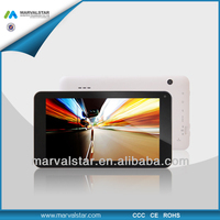 China Brand Tablets Manufacturer RK3026 Dual Core 7 Inch 1024x600 1G 8G WIFI 0.3MP And 2.0MP Camera