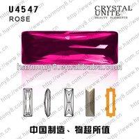 China grade A Baguette machine cut glass fancy stones