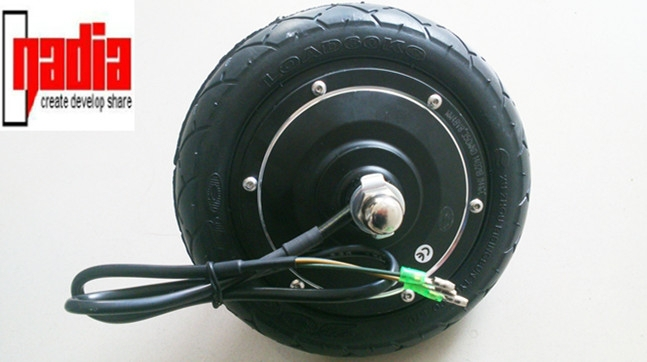 8 inch bldc gearless electric hub motor kit electric wheel