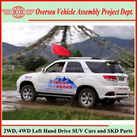 Not USA Used SUV Cars But Chinese New Automatic 5 Speed Gasoline 4WD SUVs with Spare Tyre
