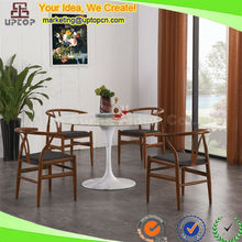 (SP-CT664) Classic Tulip carrara marble stone dinning table and chairs