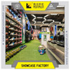 High end decoration shoe shop for big brand name shoes store