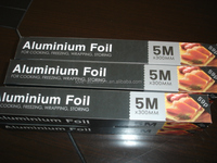 aluminium foil roll food grade disposable food packaging heat resistant aluminum foil rolled tape