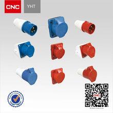 Industrial Plug and Socket YHT Series 2P+E 3P+E 16-125A waterproof plug