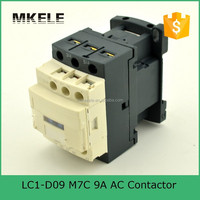 hot sale 85% silver 9A 220vac coil voltage three-phase ac contactor lc1 d09
