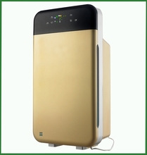 New arrival blue air purifier with remote control