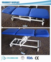 Electric Massage Table with central control castors