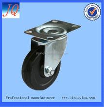 75mm solid rubber caster wheel wholesale