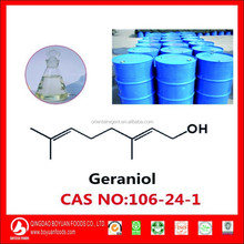 natural Geraniol oil for antioxidant and fragrance
