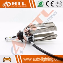 ATL Manufacturer hb3 headlight socket h4 hi-low high power led headlight