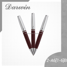 Luxury metal leather gift ball pen manufacturers in china