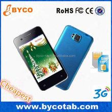 3g smart phone / dual sim phone smart phone / hand phone made in china