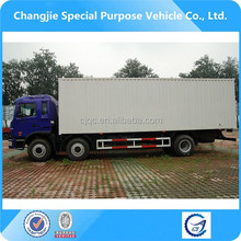 Hot sale high quality bottom price jac 6x2 heavy type diesel van