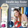 buy portable key finder mini personal and cellphnoe alarm sound sensor anti lost tracker key chain ring