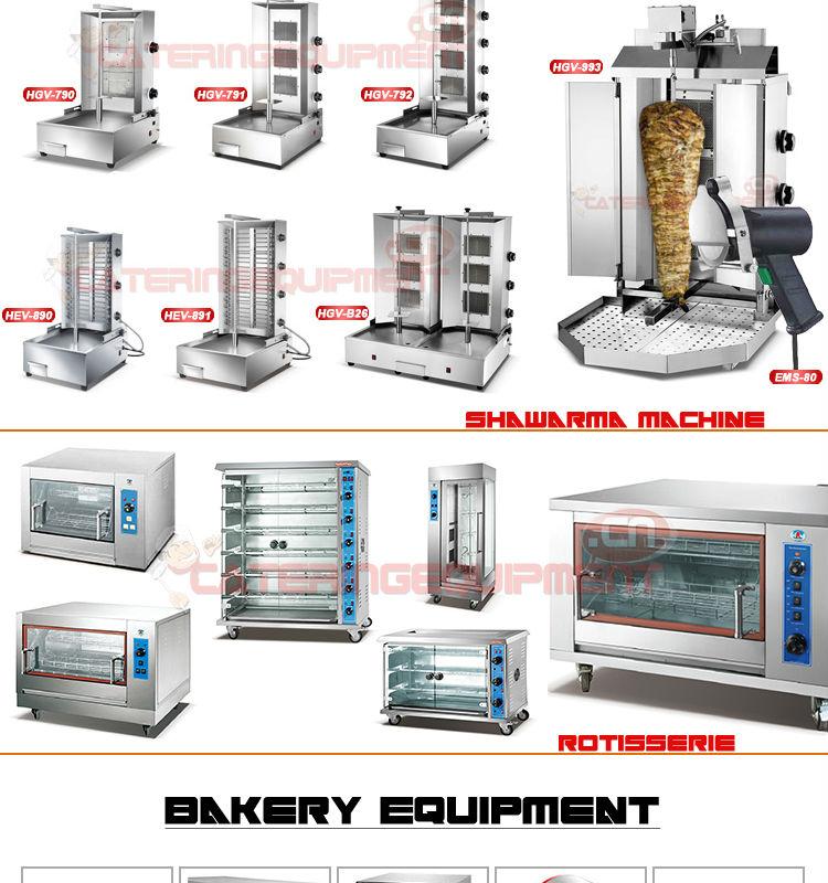 الفولاذ المقاوم للصدأ مطعم معدات المطابخ التجارية-لوازم