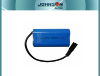 18650 battery pack for electric vehicle