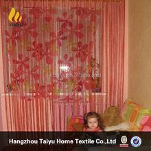 wholesale OEM romantic style drape curtain