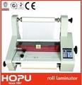 automática industrial térmica laminador del rodillo de la máquina que lamina