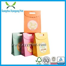 Fancy custom made factory price Eco-friendly decorative gift bags for birthday