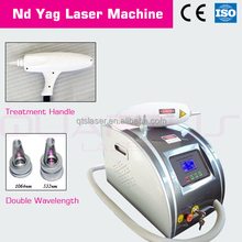 ND: YAG Q-Switch Laser Portable Beauty Equipment Improve: Complexion of gray and yellow