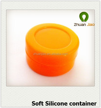 Good design wholesaler cheap soft silicone container for wax